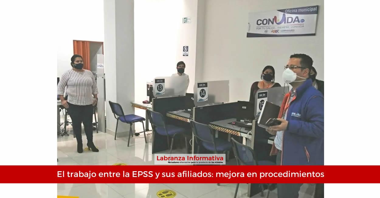 Asociación de usuarios sella compromisos con la EPS Convida