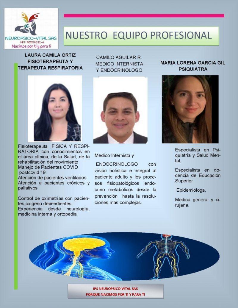 Médicos especialistas de Neuropsico-vital 02