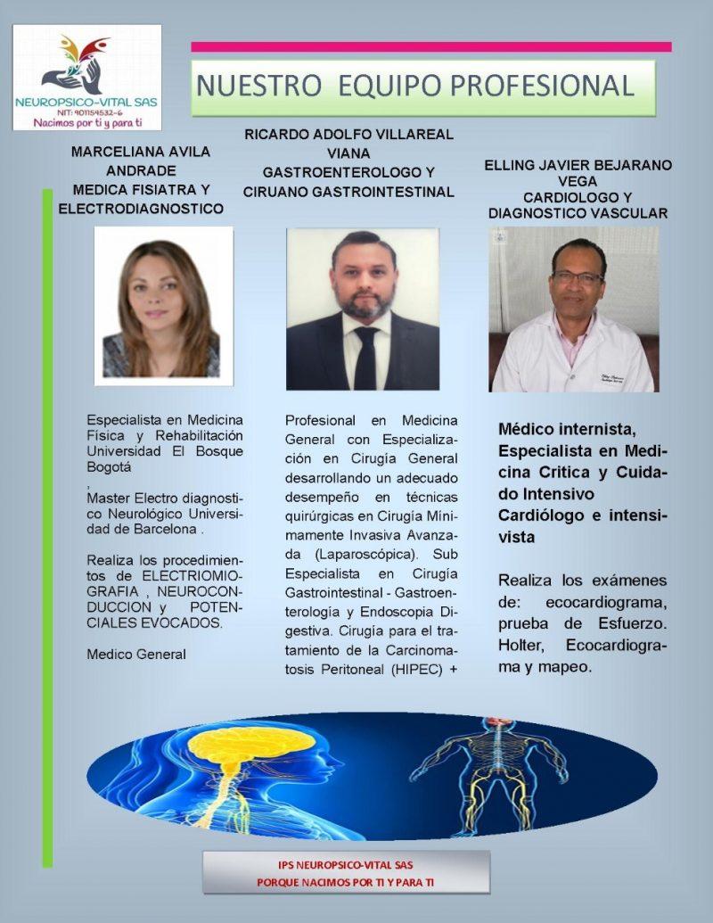 Médicos especialistas de Neuropsico-vital 03