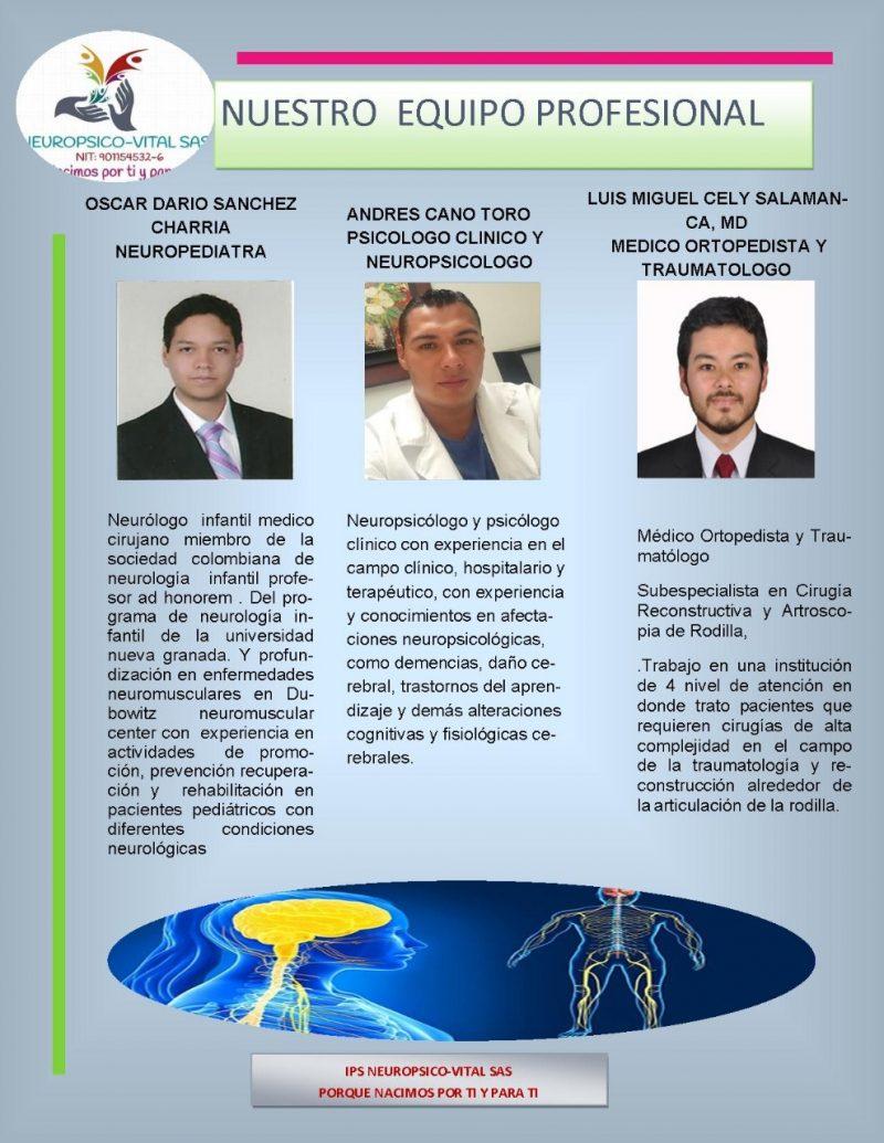 Médicos especialistas de Neuropsico-vital 04