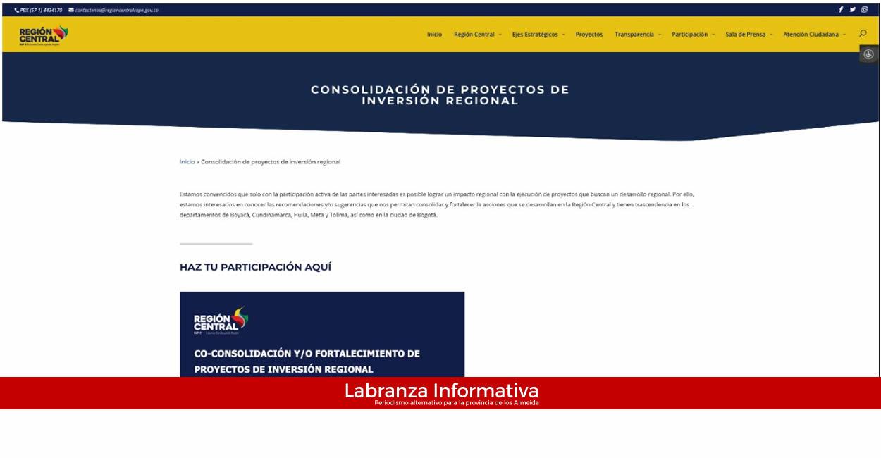 Portal web de la RAP-E pone al servicio nueva sección de participación