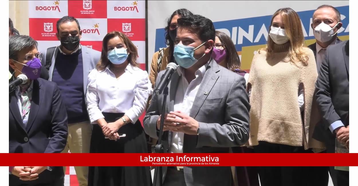 Radicado proyecto de ley de la Región Metropolitana Bogotá - Cundinamarca