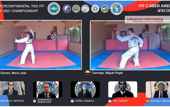 Chocontá campeón intercontinental de Taekwondo ITF