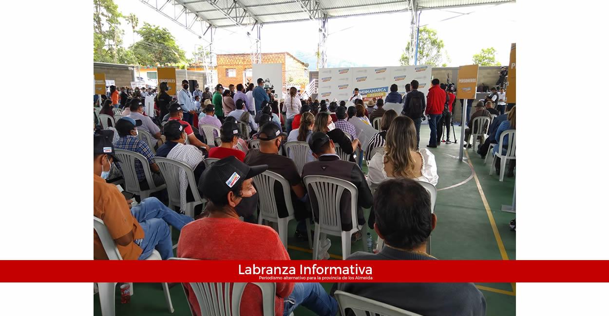 Inversión de recursos por más de $58.000 millones en la provincia de los Almeida