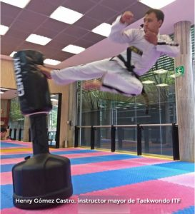 Henry Gómez Castro, instructor mayor de Taekwondo ITF (Colombia)