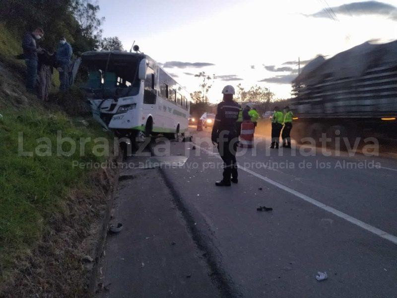 Accidente en Choconta 14/09/2021 03