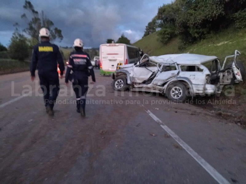 Accidente en Choconta 14/09/2021 01